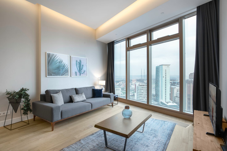 1 bedroom furnished apartment in 42 Maslak Tower B - 234 234, Maslak, Istanbul, photo 1