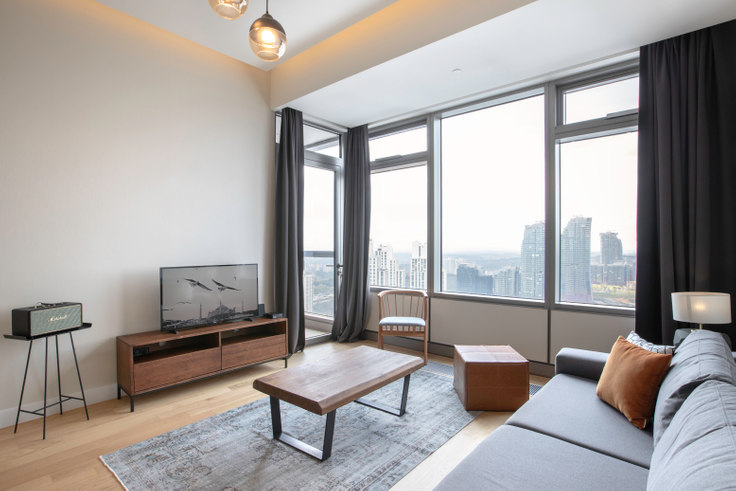 1 bedroom furnished apartment in 42 Maslak Tower B - 253 253, Maslak, Istanbul, photo 1
