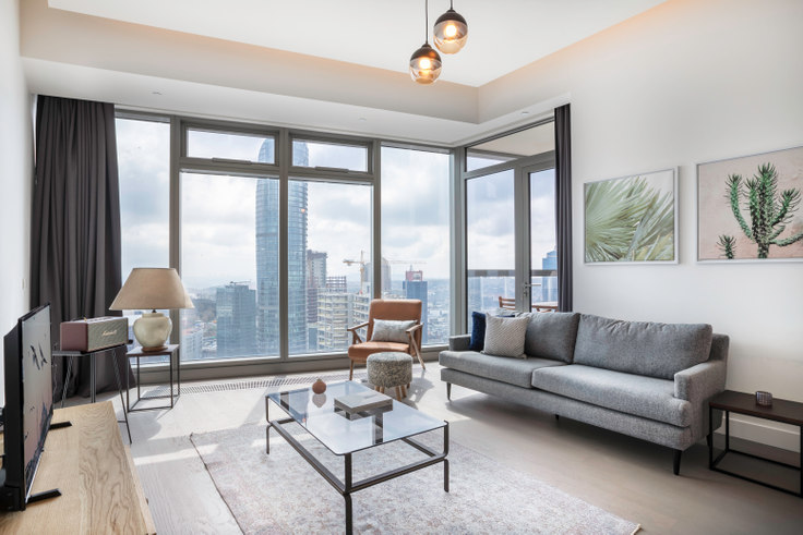 2 bedroom furnished apartment in 42 Maslak Tower B - 256 256, Maslak, Istanbul, photo 1