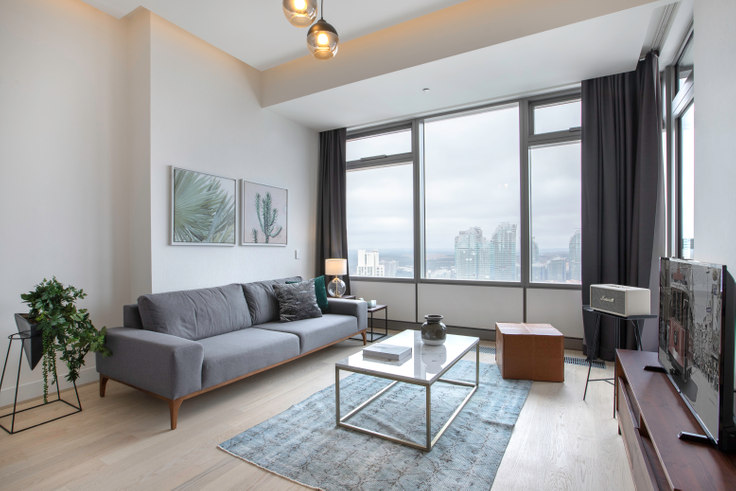 1 bedroom furnished apartment in 42 Maslak Tower B - 265 265, Maslak, Istanbul, photo 1