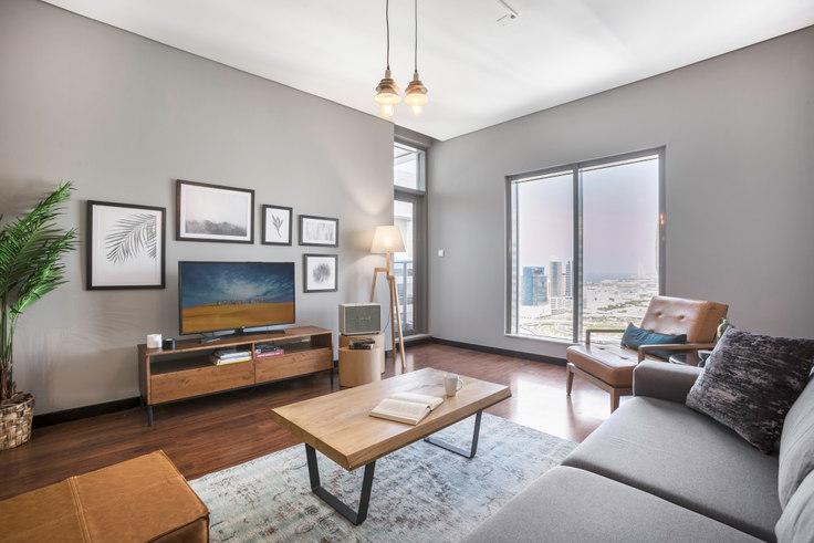 1 bedroom furnished apartment in Green Lakes Apartment II 396, Green Lake, Dubai, photo 1