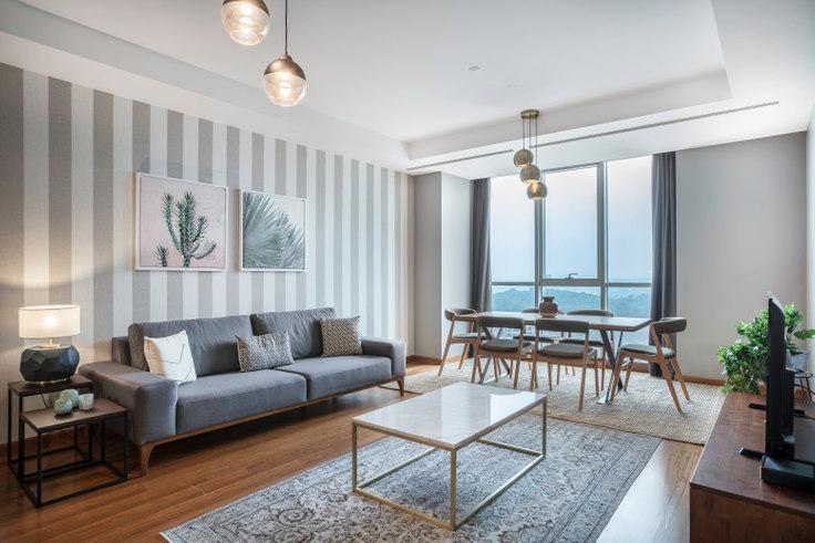 3 bedroom furnished apartment in Mashattan - 271 271, Maslak, Istanbul, photo 1