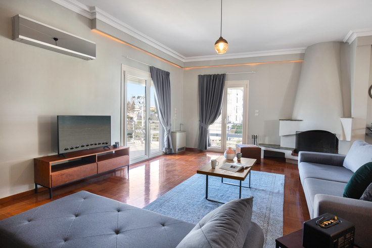 3 bedroom furnished apartment in Miltiadou V 620, Glyfada, Athens, photo 1