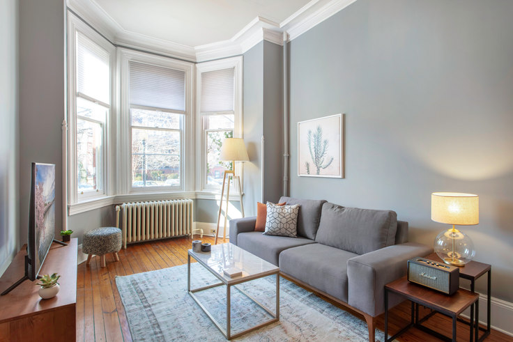1 bedroom furnished apartment in 1503 Vermont Ave NW 24, Logan Circle, Washington D.C., photo 1