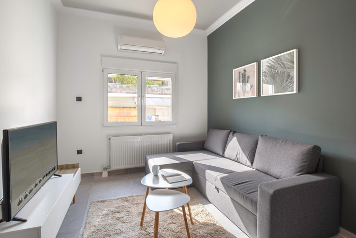 1 bedroom furnished apartment in Aldou Manoutiou II 624, Ampelokipoi, Athens, photo 1