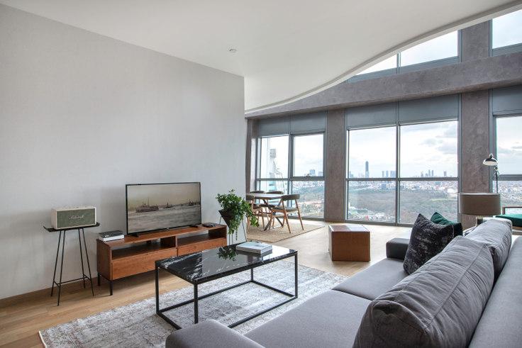 3 bedroom furnished apartment in Maslak 1453 - 273 273, Maslak, Istanbul, photo 1