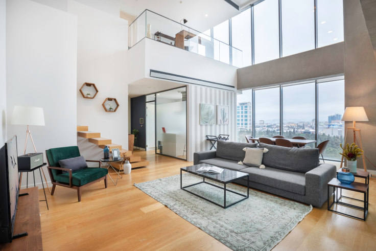 2 bedroom furnished apartment in Istanbloom Loft - 275 275, Esentepe, Istanbul, photo 1