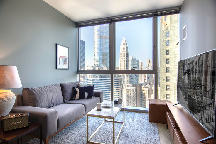 1 bedroom furnished apartment in Mila, 201 N Garland Ct 42, The Loop, Chicago, photo 1