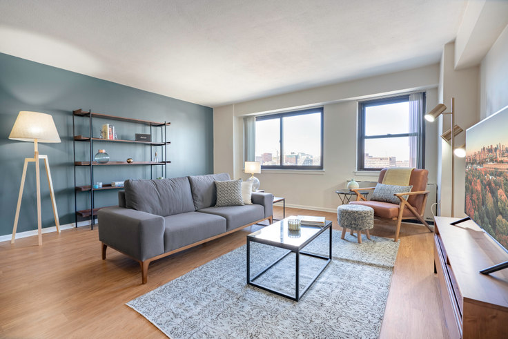 2 bedroom furnished apartment in 10 Emerson Pl 54, Beacon Hill, Boston, photo 1