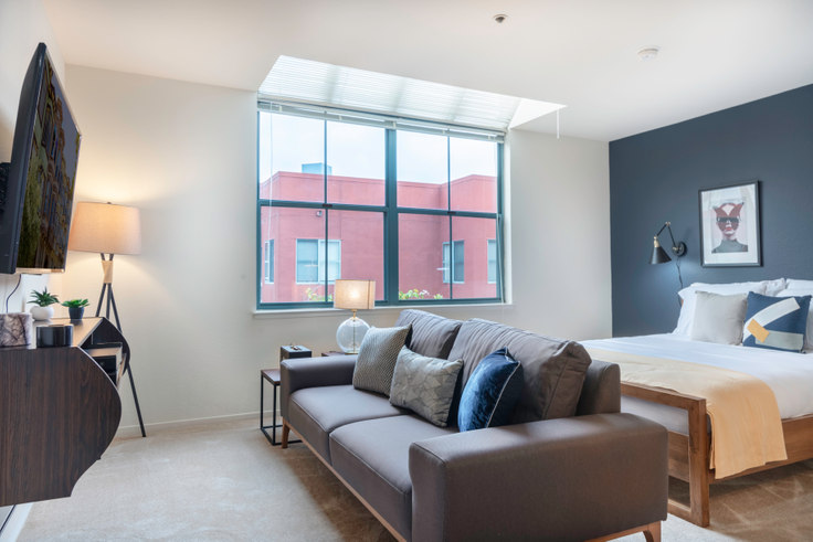 Studio furnished apartment in 4 Bayside Village Pl 90, South Beach, San Francisco Bay Area, photo 1