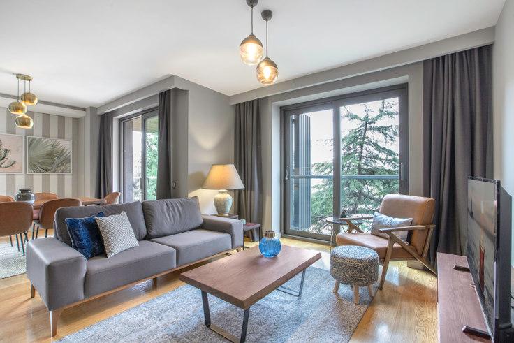 2 bedroom furnished apartment in Nidapark - 278 278, Yıldız, Istanbul, photo 1