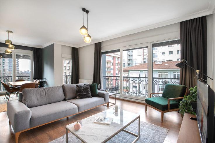 3 bedroom furnished apartment in Ogün - 279 279, Caddebostan, Istanbul, photo 1