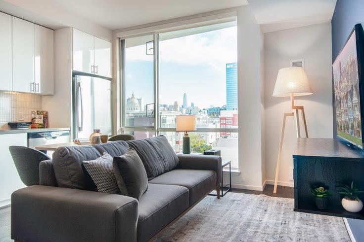 Studio furnished apartment in Avalon 325 Octavia, 325 Octavia St 98, Hayes Valley, San Francisco Bay Area, photo 1
