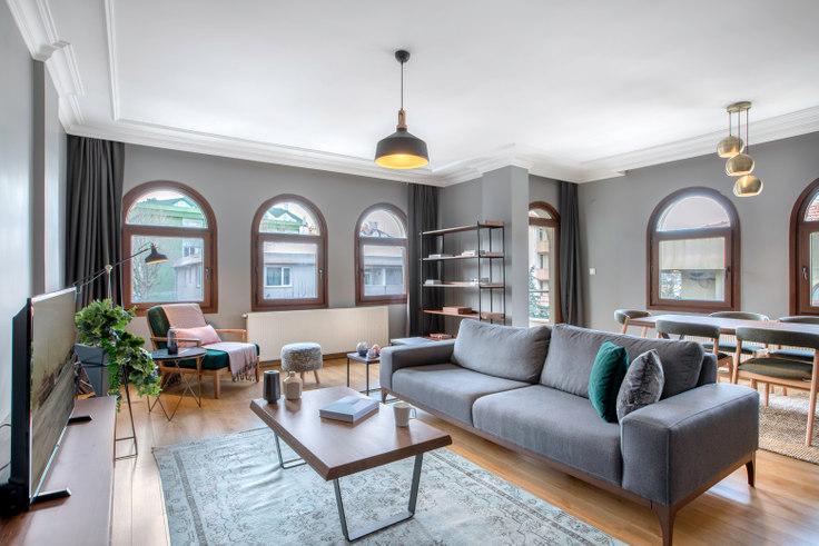 2 bedroom furnished apartment in Nurçelik - 280 280, Etiler, Istanbul, photo 1