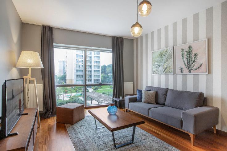 1 bedroom furnished apartment in Dorapark - 283 283, Ümraniye, Istanbul, photo 1