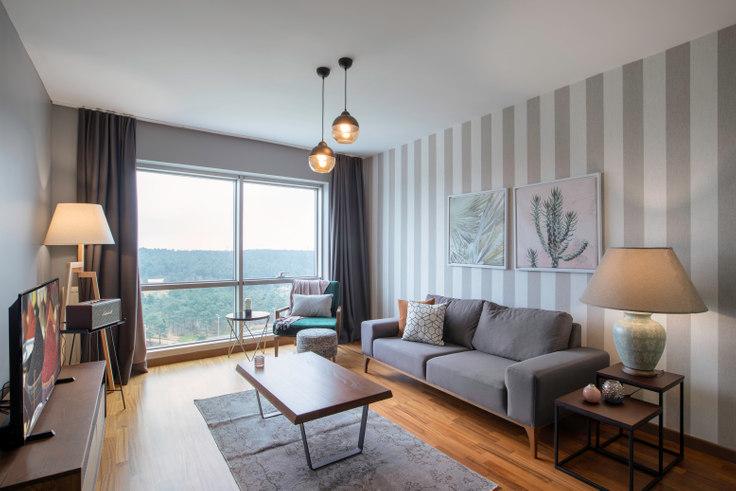 2 bedroom furnished apartment in Dorapark - 284 284, Ümraniye, Istanbul, photo 1