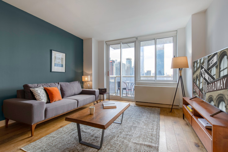 1 bedroom furnished apartment in Riverbank, 560 W 43rd St 249, Midtown West, New York, photo 1