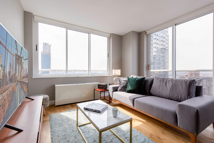 2 bedroom furnished apartment in Riverbank, 560 W 43rd St 250, Midtown West, New York, photo 1