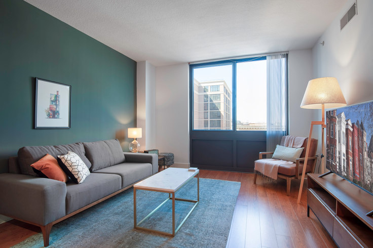 1 bedroom furnished apartment in Meridian at Mount Vernon Triangle, 425 L St NW 30, Mount Vernon, Washington D.C., photo 1