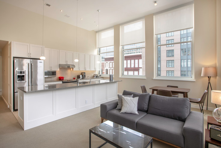 2 bedroom furnished apartment in The Lansburgh, 425 8th St NW 32, Penn Quarter, Washington D.C., photo 1