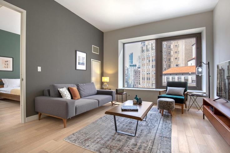 1 bedroom furnished apartment in 75 Wall St 251, Financial District, New York, photo 1