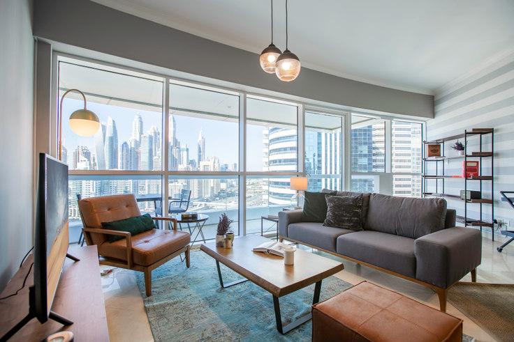 2 bedroom furnished apartment in Saba Apartment 422, Saba Tower, Dubai, photo 1