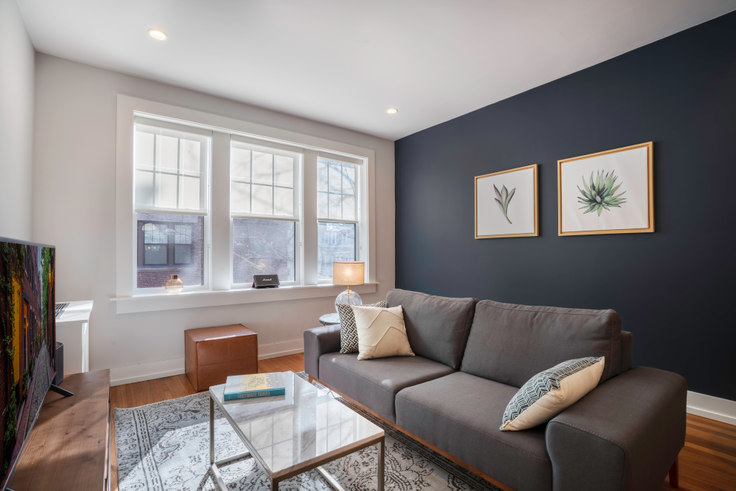 1 bedroom furnished apartment in 17-17A Forest Ct, 17 Forest St 64, Porter Square, Boston, photo 1