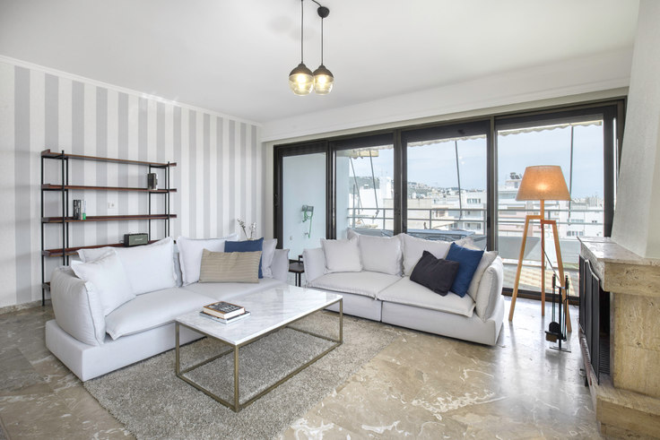 3 bedroom furnished apartment in Georgiou Kondyli IV 645, Glyfada, Athens, photo 1