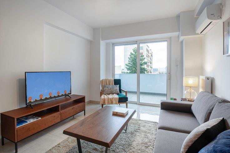 1 bedroom furnished apartment in Doganis IX 649, Piraeus, Athens, photo 1