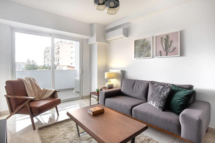 1 bedroom furnished apartment in Doganis X 650, Piraeus, Athens, photo 1