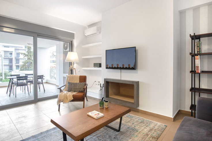 1 bedroom furnished apartment in First St II 652, Elliniko, Athens, photo 1