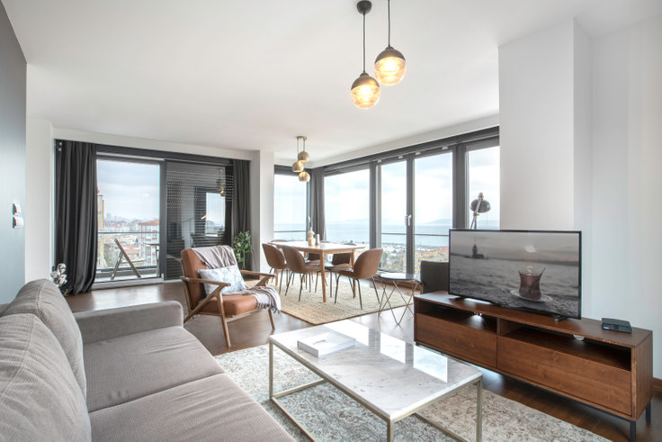 4 bedroom furnished apartment in Alaz - 287 287, Suadiye, Istanbul, photo 1