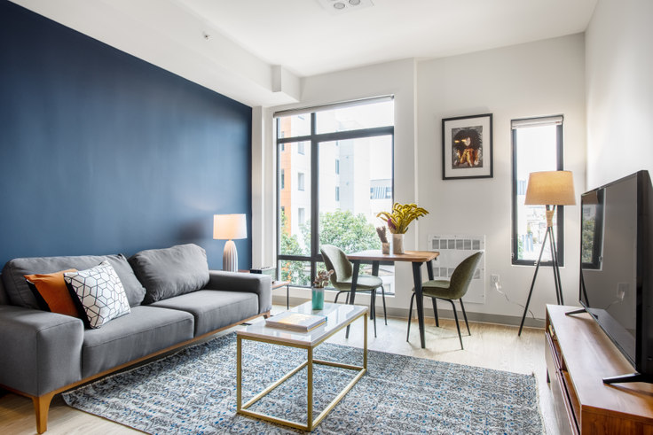 Studio furnished apartment in 24 Franklin St 109, Hayes Valley, San Francisco Bay Area, photo 1