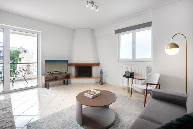 2 bedroom furnished apartment in Delfon 658, Chalandri, Athens, photo 1