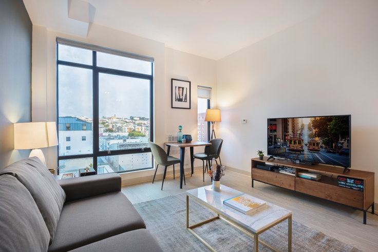 Studio furnished apartment in 24 Franklin St 112, Hayes Valley, San Francisco Bay Area, photo 1
