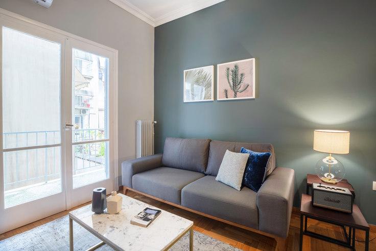 1 bedroom furnished apartment in Alopekis II 659, Kolonaki, Athens, photo 1