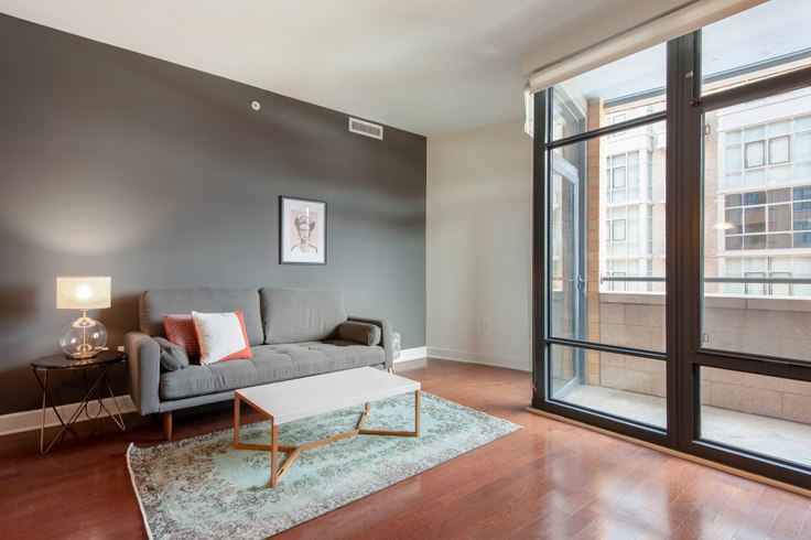 1 bedroom furnished apartment in 425 Mass, 401 Massachusetts Ave NW 39, Mount Vernon, Washington D.C., photo 1