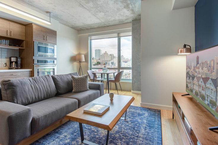 Studio furnished apartment in Etta, 1285 Sutter St 116, Nob Hill, San Francisco Bay Area, photo 1