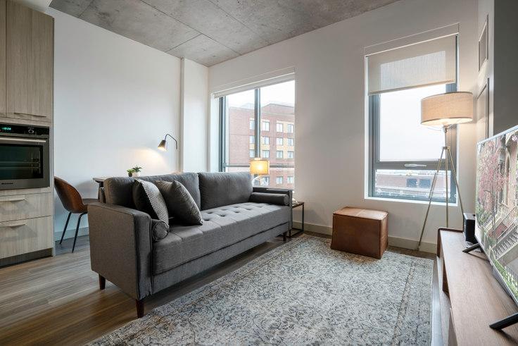 Studio furnished apartment in Proto, 88 Ames St 72, Kendall Square, Boston, photo 1