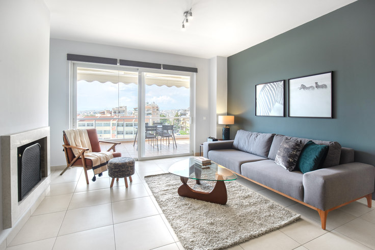 3 bedroom furnished apartment in Kallipoleos 663, Elliniko, Athens, photo 1