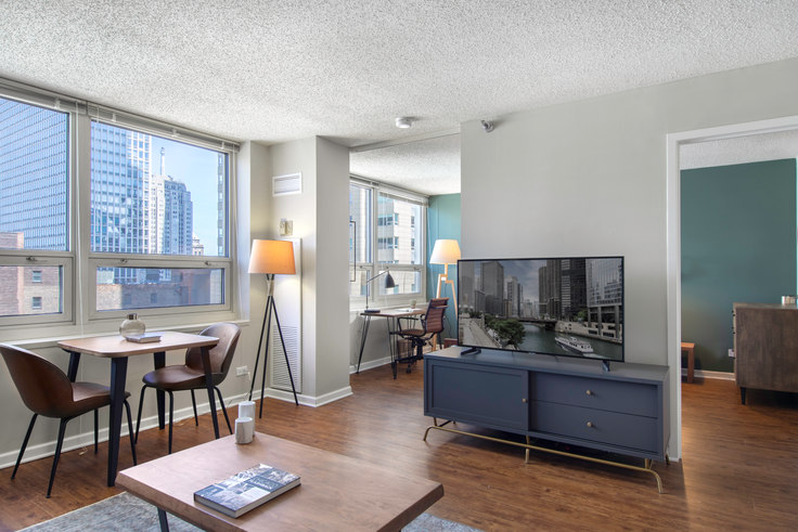 1 bedroom furnished apartment in The Chicagoan, 750 N Rush St 54, River North, Chicago, photo 1