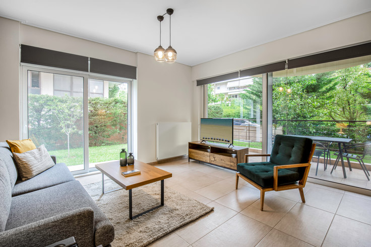 2 bedroom furnished apartment in Etolias 673, Agia Paraskevi, Athens, photo 1