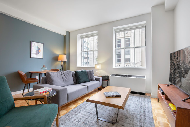 1 bedroom furnished apartment in 63 Wall St 270, Financial District, New York, photo 1