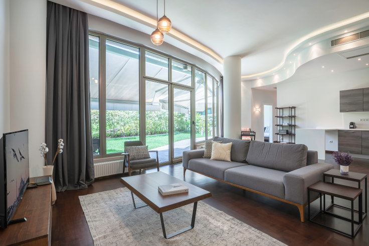 3 bedroom furnished apartment in One Ortaköy - 290 290, Ortaköy, Istanbul, photo 1