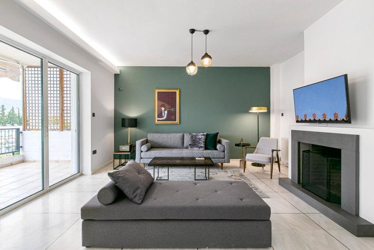 2 bedroom furnished apartment in Eptalofou I 679, Marousi, Athens, photo 1