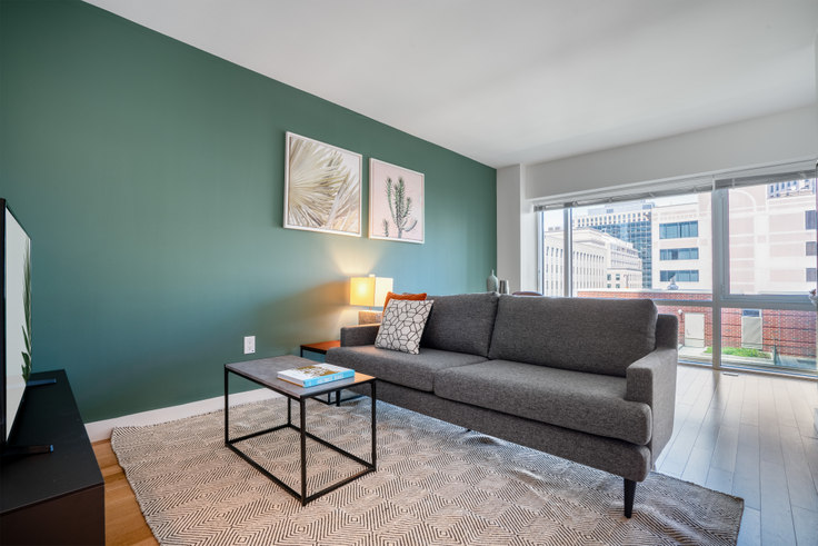 Studio furnished apartment in One Back Bay, 135 Clarendon St 85, Back Bay, Boston, photo 1