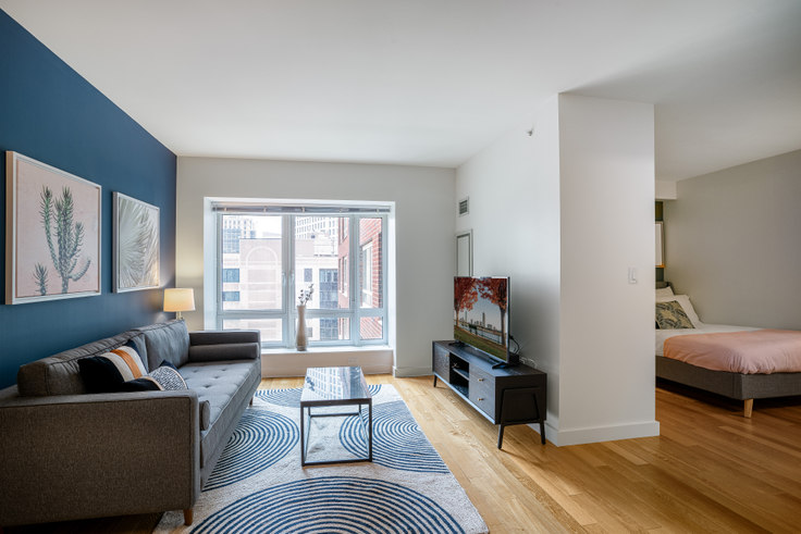 Studio furnished apartment in One Back Bay, 135 Clarendon St 86, Back Bay, Boston, photo 1