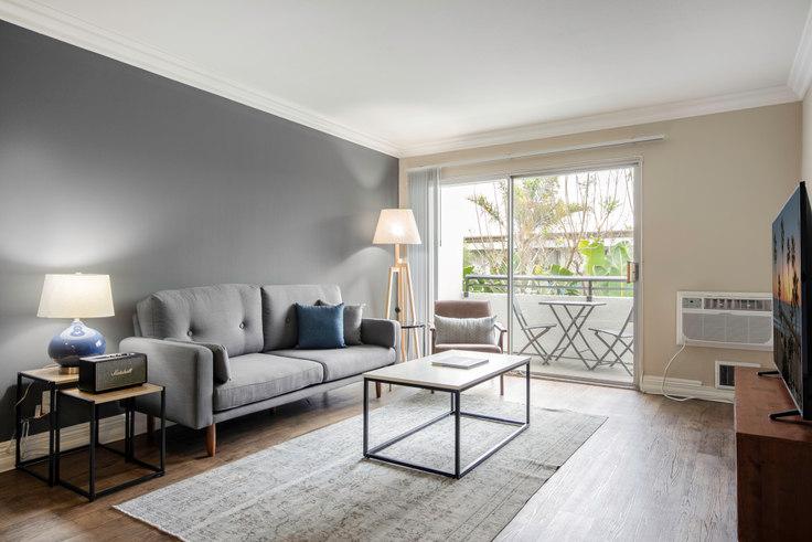1 bedroom furnished apartment in Westside Terrace, 3636 S Sepulveda Blvd 85, West LA, Los Angeles, photo 1