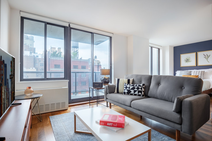 Studio furnished apartment in Instrata Gramercy, 290 3rd Ave 279, Gramercy Park, New York, photo 1