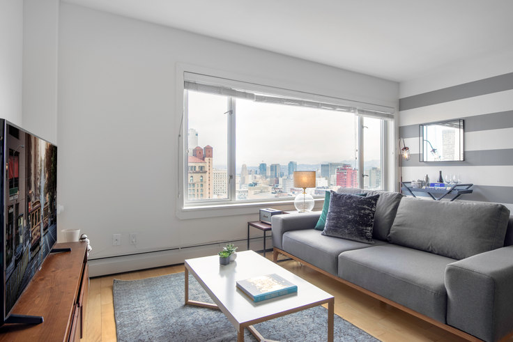 Studio furnished apartment in Pinnacle at Nob Hill, 899 Pine St 128, Nob Hill, San Francisco Bay Area, photo 1